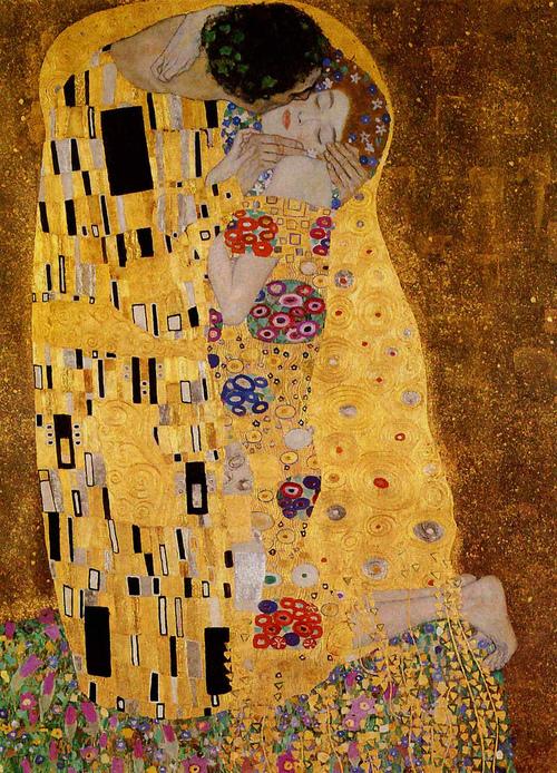 """Qustav Klimt - """"Öpüş"""""""